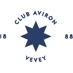Le logo du club d'aviron de Vevey en Suisse
