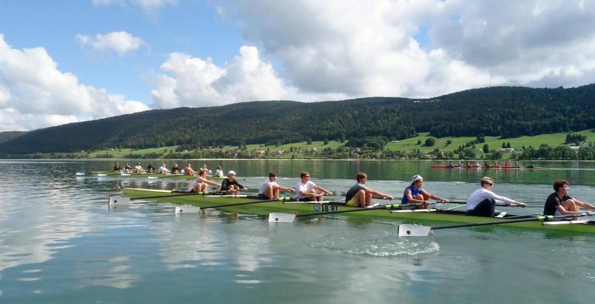 Camp d'entraînement sur le Lac de Joux