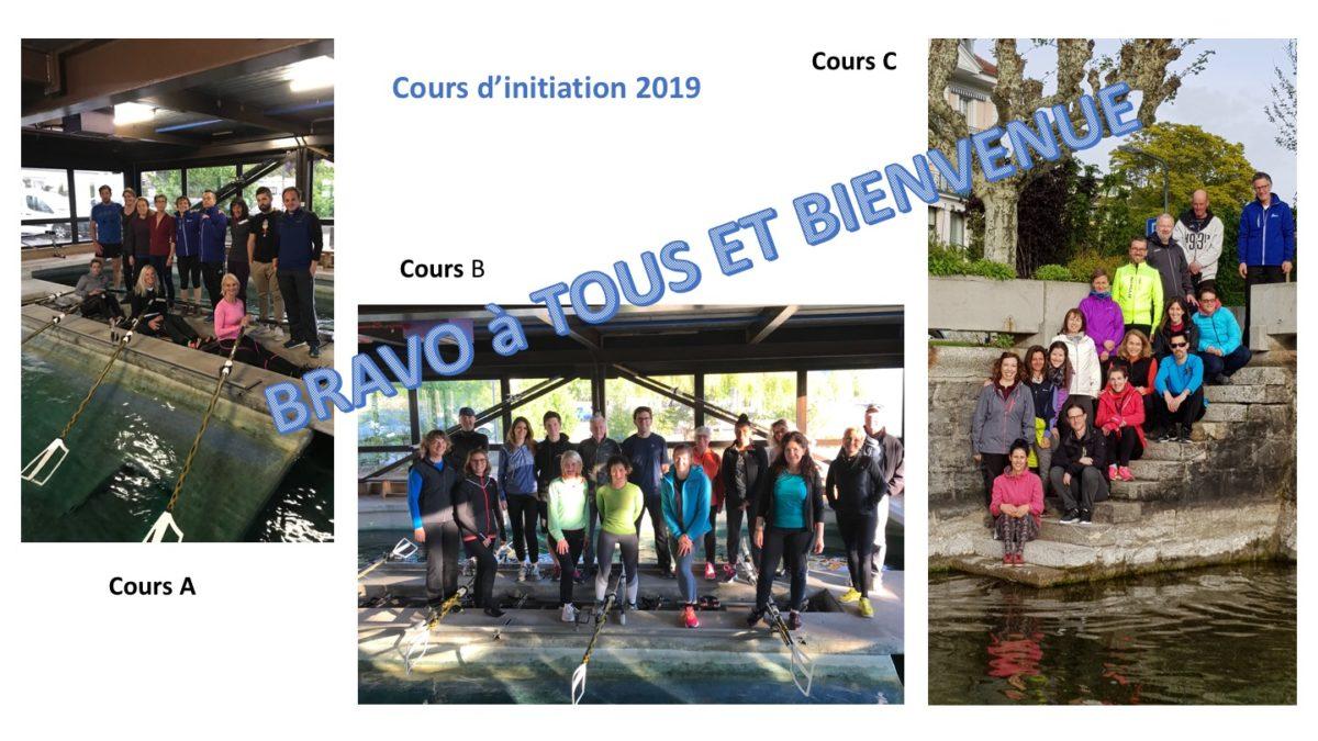Cours d'initiation 2019