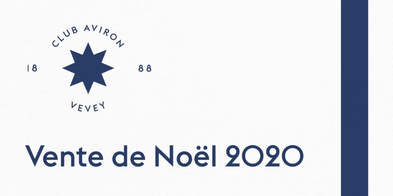 Le catalogue de la vente de noël 2020 du Club Aviron Vevey