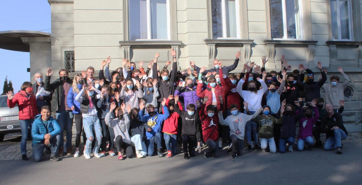 Camp d'entraînement de Pâques sur le Bodensee